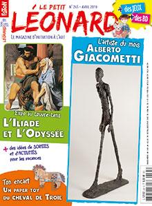 Couverture de la revue Le petit Léonard