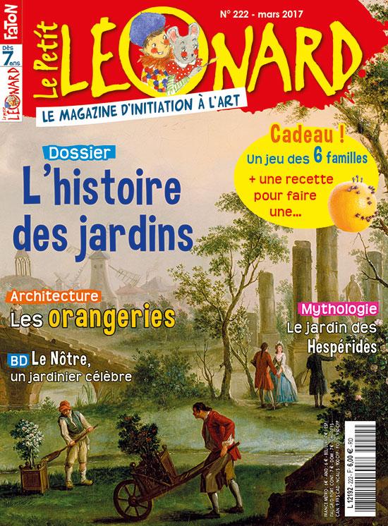 L 39 histoire des jardins le petit l onard n 222 - Effroyables jardins histoire des arts ...